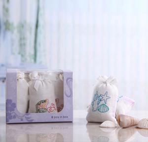 香知韵布袋绣花除味香包eyun669(6包装)